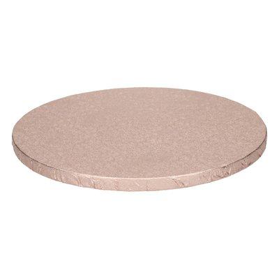 FunCakes Cake Drum Rond Ø25cm -Rose Goud-