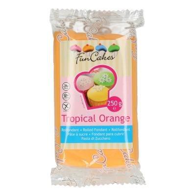 FunCakes Rolfondant Tropical Orange -250g T.H.T. 16-02-21