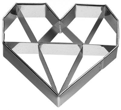 Birkmann Heart Diamond Cookie Cutter 6,5cm