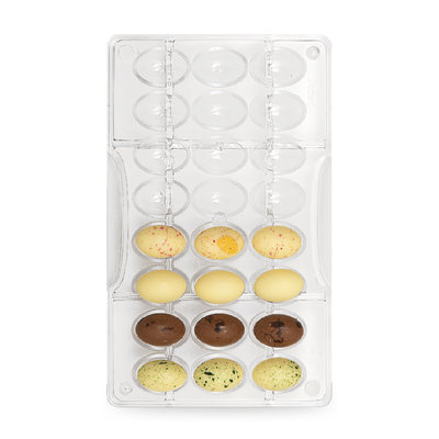 Decora Little Easter Eggs Chocolat Mould - 24 cavities