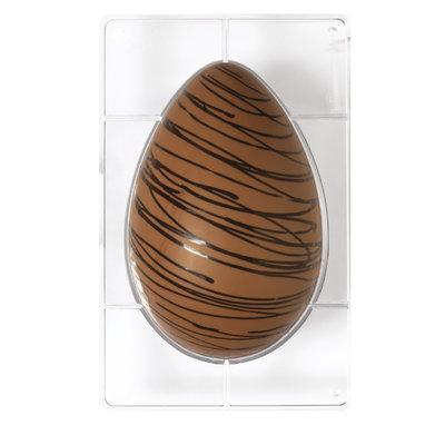Decora Egg Chocolat Mold 350G 1 Cavity 165 x230mm