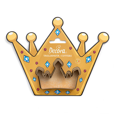 Decora Crown Plastic Cookie Cutter