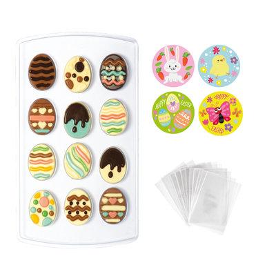 Decora Choco Candy Kit Eggs Mould Set 15x26cm