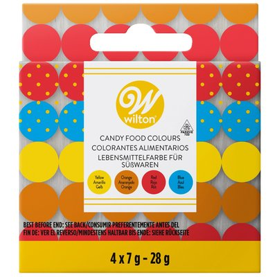 Wilton Candy Colors Set/4 (Oil based)