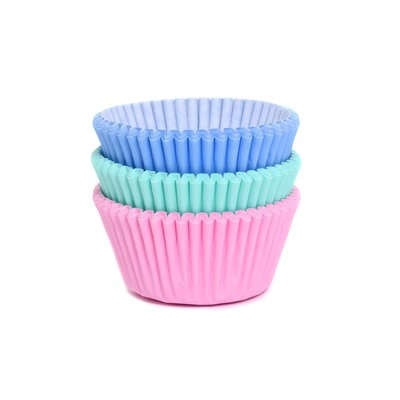 House of Marie Baking Cups Assorti Pastel pk/75