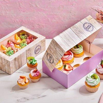 FunCakes Cupcake Doos 6 -Pure pk/3