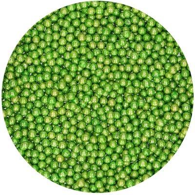 FunCakes Suikerparels Medium Metallic Groen 80 g