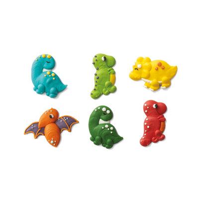 Decora Suikerdecoratie Dino set/6