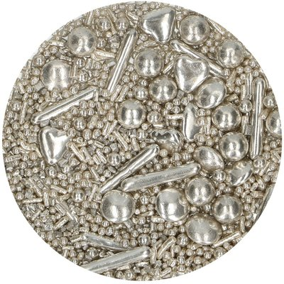 FunCakes Sprinkle Medley Silver 65 g