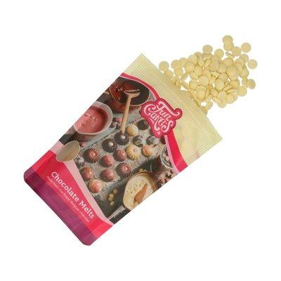 FunCakes Chocolade Melts Wit 350g