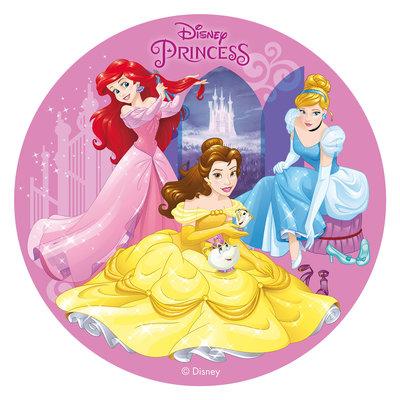 Dekora Disney Prinsessen Eetbare Taartprint 20cm