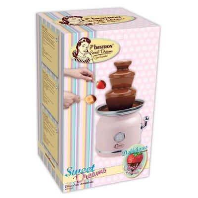 Bestron Sweet Dreams Chocolade Fontein 90W Roze