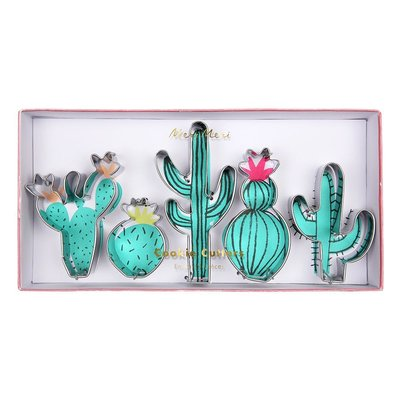 Meri Meri Cactus Cookie Cutters