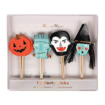 Meri Merri Party Picks Halloween