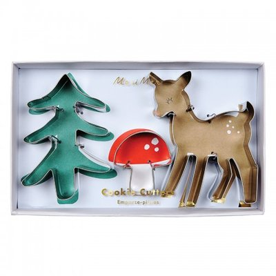 Meri Meri Woodland Cookie Cutter Set