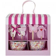 Meri Meri Baby Pink Cupcake Kit
