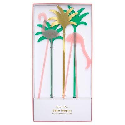 Meri Meri Flamingo Cake Toppers