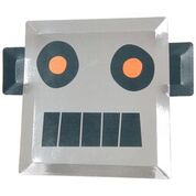 Meri Meri Robot Plates