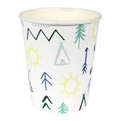 Meri Meri Lets Explore Cups