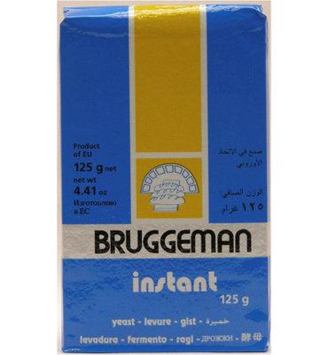Bruggeman Instant Droge Gist 125g