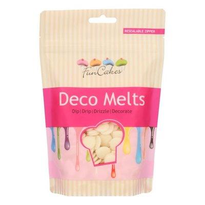 FunCakes Deco Melts -Wit- 250g