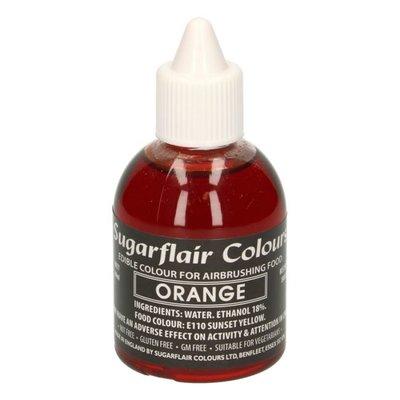 Sugarflair Airbrush Kleurstof Oranje 60ml