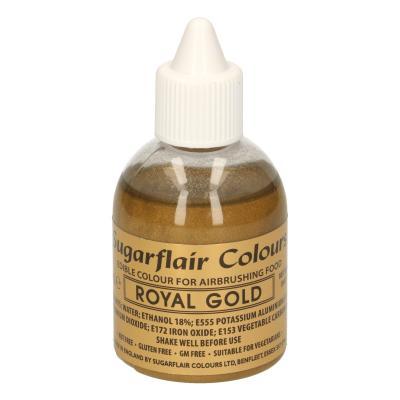 Sugarflair Airbrush Kleurstof Royal Gold 60ml