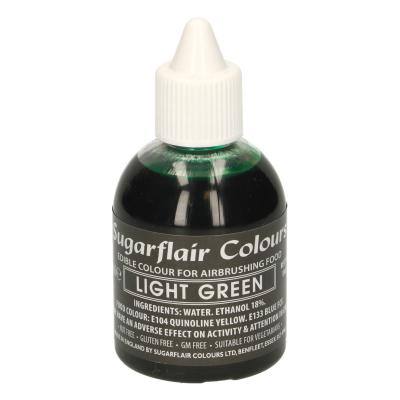 Sugarflair Airbrush Kleurstof Licht Groen 60ml