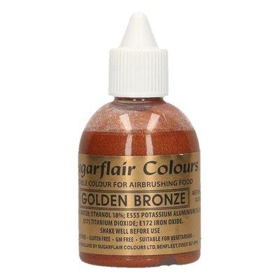 Sugarflair Airbrush Kleurstof Goud Brons 60ml