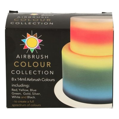 Sugarflair Airbrush Colour Collection 8x14ml