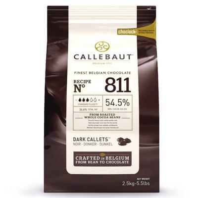 Callebaut Chocolade Callets -Puur- 2,5 kg