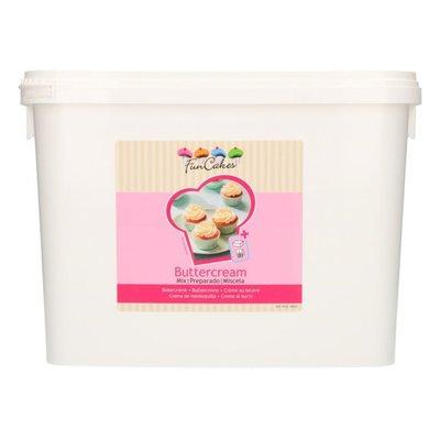 FunCakes Mix voor Botercreme 4,5 kg -Emmer-