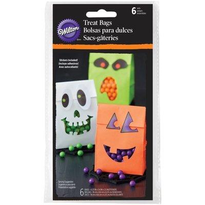 Wilton Treat Bags Halloween With Sticker pk/6