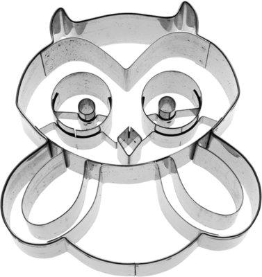 Birkmann Hugo the Owl Cookie cutter 7,5cm