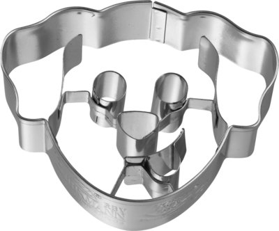 Birkmann Dog head cookie cutter 6cm