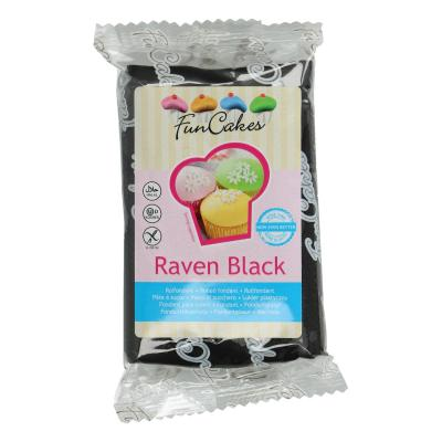 FunCakes Rolfondant Raven Black -250g