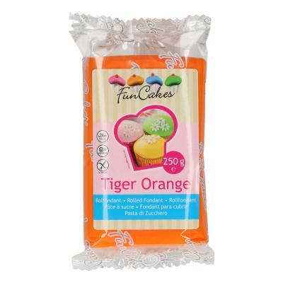 FunCakes Rolfondant Tiger Orange -250g