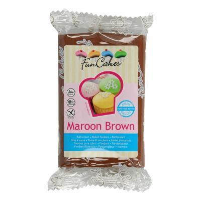 FunCakes Rolfondant -Maroon Brown- -250g-