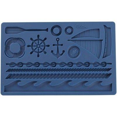 Wilton Fondant & Gum Paste Mold Nautical