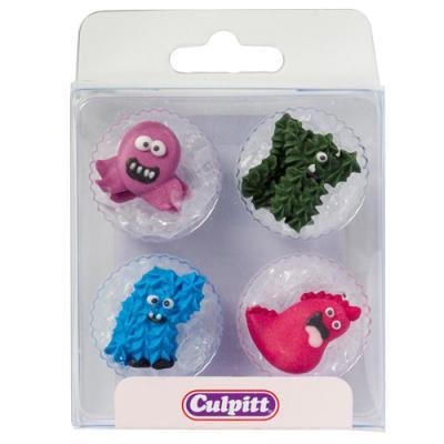 Culpitt Suikerdecoraties Monsters pk/12