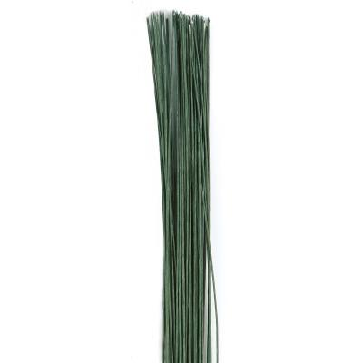 Culpitt Floral Wire Dark Green set/50 -24 gauge