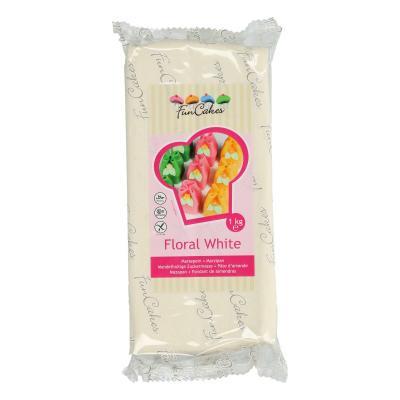 FunCakes Marsepein Floral White 1kg