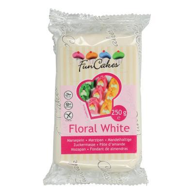 FunCakes Marsepein Floral White 250g