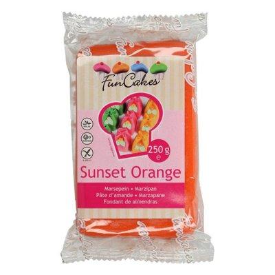 FunCakes Marsepein Sunset Orange 250g