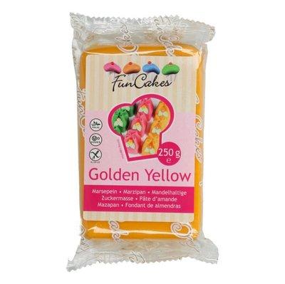 FunCakes Marsepein -Golden Yellow- -250g-