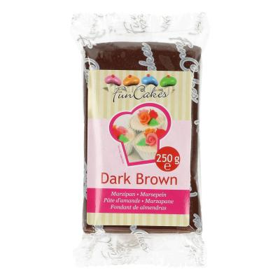 FunCakes Marsepein -Dark Brown- -250g-