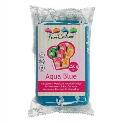 FunCakes Marsepein Aqua Blue 250g
