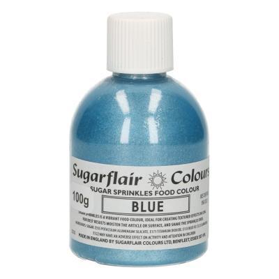 Sugarflair Sugar Sprinkles -Blue- 100g