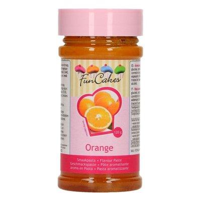 FunCakes Smaakpasta -Sinaasappel- 120g