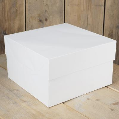 FunCakes Taartdoos -Blanco 20x20x15cm- pk/1